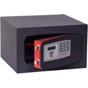 Bútorszéf, elektronikus zár, 17 l, 210x340x300 mm, TECHNOMAX