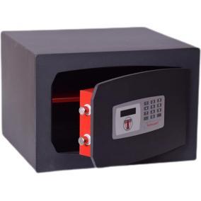 Bútorszéf, elektronikus zár, 30 l, 270x390x350 mm, TECHNOMAX
