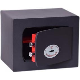 Bútorszéf, kulcsos zár, 8,5 l, 210x270x200 mm, TECHNOMAX