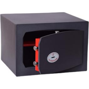 Bútorszéf, kulcsos zár, 30 l, 270x390x350 mm, TECHNOMAX