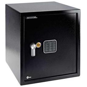 Bútorszéf, elektronikus zár, riasztóval, 40 l, 390x350x360 mm, YALE