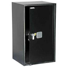 Bútorszéf, elektronikus zár, 89,2 l, 695x430x360 mm, YALE