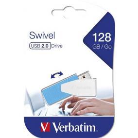 Pendrive, 128GB, USB 2.0, 8/2.5MB/sec, VERBATIM