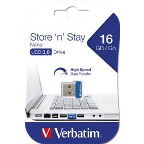 Pendrive, 16GB, USB 3.0, 80/25MB/sec, VERBATIM