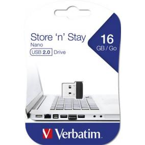 Pendrive, 16GB, USB 2.0, 10/3MB/sec, VERBATIM