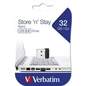 Pendrive, 32GB, USB 2.0, 10/3MB/sec, VERBATIM