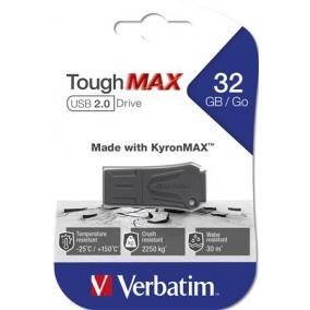 Pendrive, extra ellenálló, 32GB, USB 2.0, VERBATIM