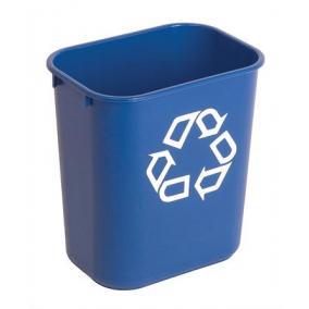 Szelektív hulladékgyűjtő, műanyag, 27 l, VEPA BINS, kék