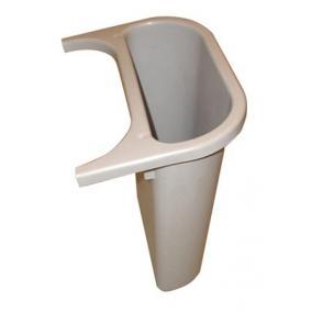 Szelektív hulladékgyűjtőhöz kiegészítő szemetes, műanyag, 4,5 l, VEPA BINS, szürke