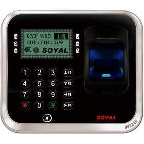 Ujj- és érlenyomat olvasó, vezérlő, SOYAL AR-837EFB-1500-3DO-1X