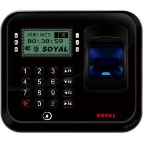 Ujj- és érlenyomat olvasó, vezérlő, SOYAL AR-837EFiBi-1500-3DO-BX