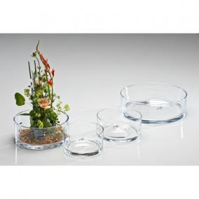 Üveg tál 7,5x16cm átlátszó