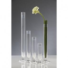 Üveg váza talpas 3 cm x 40 cm átlátszó