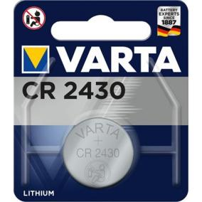 Gombelem, CR2430, 1 db, VARTA