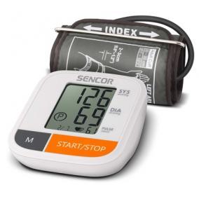 Digitális vérnyomásmérő, felkaros, SENCOR