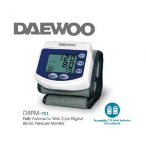 Vérnyomásmérő csuklós - Daewoo, DBPM-701