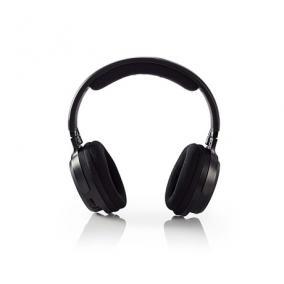Fejhallgató vezeték nélküli  - Nedis, HPRF200BK