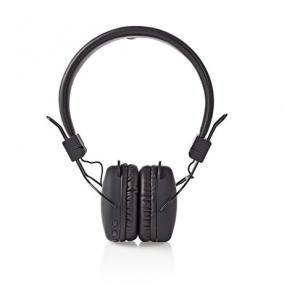 Fejhallgató vezeték nélküli  - Nedis, HPBT1100BK