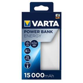 Hordozható akkumulátor, 15000 mAh, VARTA