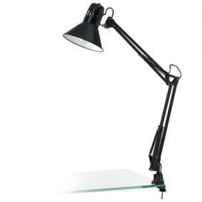 Asztali lámpa, 40 W, Firmo, fekete