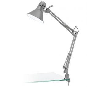 Asztali lámpa, 40 W, Firmo, ezüst
