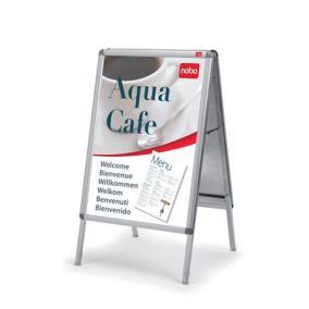 Megállító tábla, poszteres, 48x56 cm, A2, NOBO
