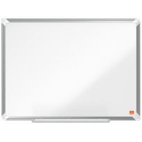 Fehértábla, zománcozott, mágneses, 60x45 cm, alumínium keret, NOBO