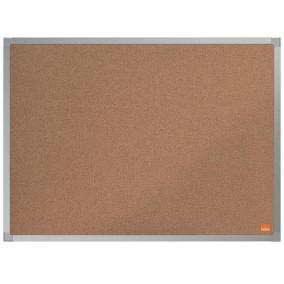 Parafatábla, 60x45 cm, alumínium keret, NOBO