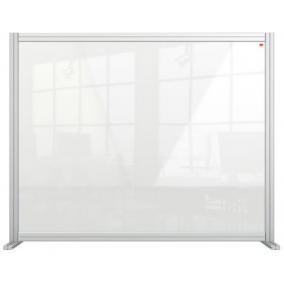 Válaszfal, asztali, akril, 1200x1000 mm, NOBO