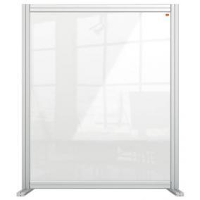 Válaszfal, asztali, akril, 800x1000 mm, NOBO