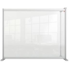 Kiegészítő panel, asztali, akril, 1200x1000 mm, NOBO