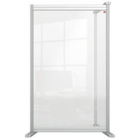 Kiegészítő panel, asztali, akril, 600x1000 mm, NOBO