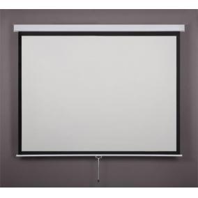 Vetítővászon, fali, rolós, 4:3, 180x135cm, VICTORIA