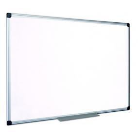 Fehértábla, nem mágneses, 90x180 cm, alumínium keret, VICTORIA