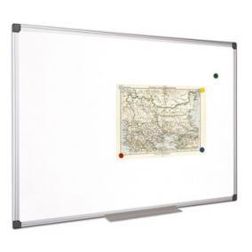 Fehértábla, mágneses, 60x90 cm, alumínium keret, VICTORIA