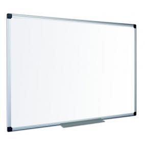 Fehértábla, zománcozott, matt,  100x200 cm, alumínium keret VICTORIA