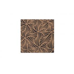 Üzenőtábla, keret nékül, parafa, 40x40 cm, sima, VICTORIA