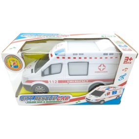 Városi mentőautó 6 funkciós, fénnyel és hanggal