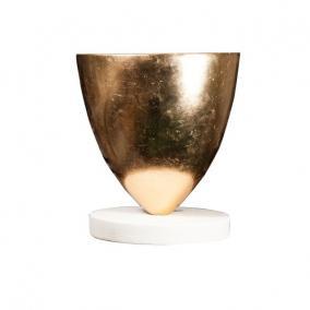 Váza műanyag 45,5 cm x 45,5 cm x 51 cm arany