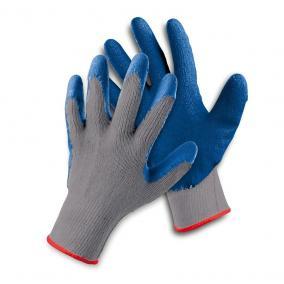 Védőkesztyű FF HS-04-002 csúszásgátló latex kék 10