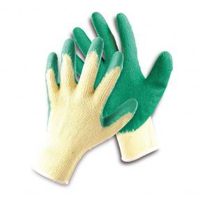 Védőkesztyű FF HS-04-002 csúszásgátló latex zöld 10