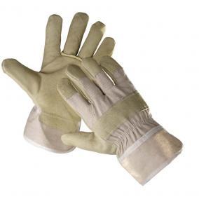 Védőkesztyű SHAG bőr téli rakodó 10