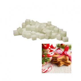 Viasz kocka illatos 3x3x3cm christmas cookies (8 db/szett)