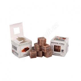 Viasz kocka illatos 3x3x3cm cinnamon [8 db]