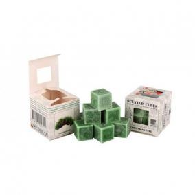 Viasz kocka illatos 3cm x3cm x3cm karácsonyfa [8 db]