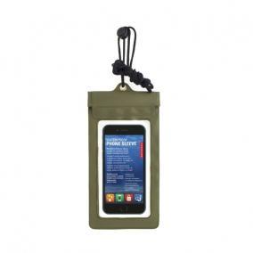 Vízálló telefontok, zöld