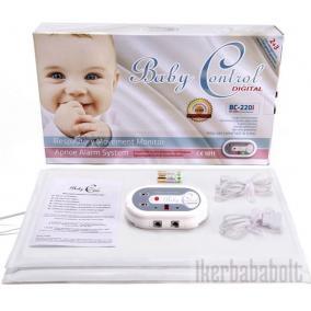 Csecsemő légzésfigyelő (ikerbabáknak) APNOE őrző  BC-220i