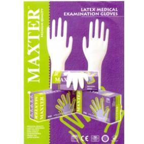 Kesztyű púdermentes nem steril Maxter Nitrile kék M/8-es [min: 100db]