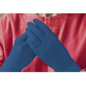 Kesztyű latex extra vastag AMBULANCE kék pm. M [min: 50db]