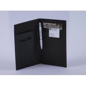 Recepttartó bőr LRT-0520-1 fekete
